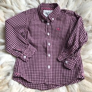 H&M Boys Button Down Dress Shirt 18M - 2 YEARS